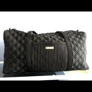 Vera Bradley Large Duffel Bag Black